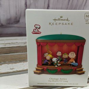 Hallmark on stage antics peanuts gang 2012 xmas or